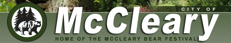 City of McCleary - Home of the McCleary Bear Festival